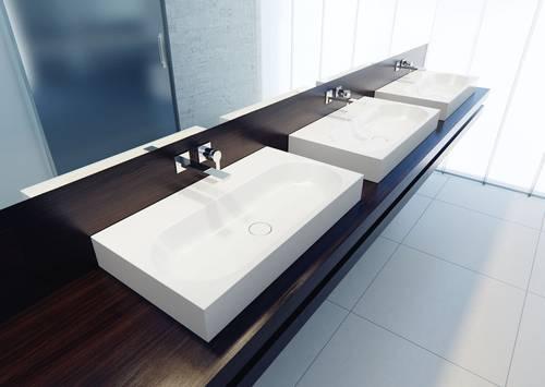 kaldewei waschtische langlebig hygienisch und leicht zu. Black Bedroom Furniture Sets. Home Design Ideas