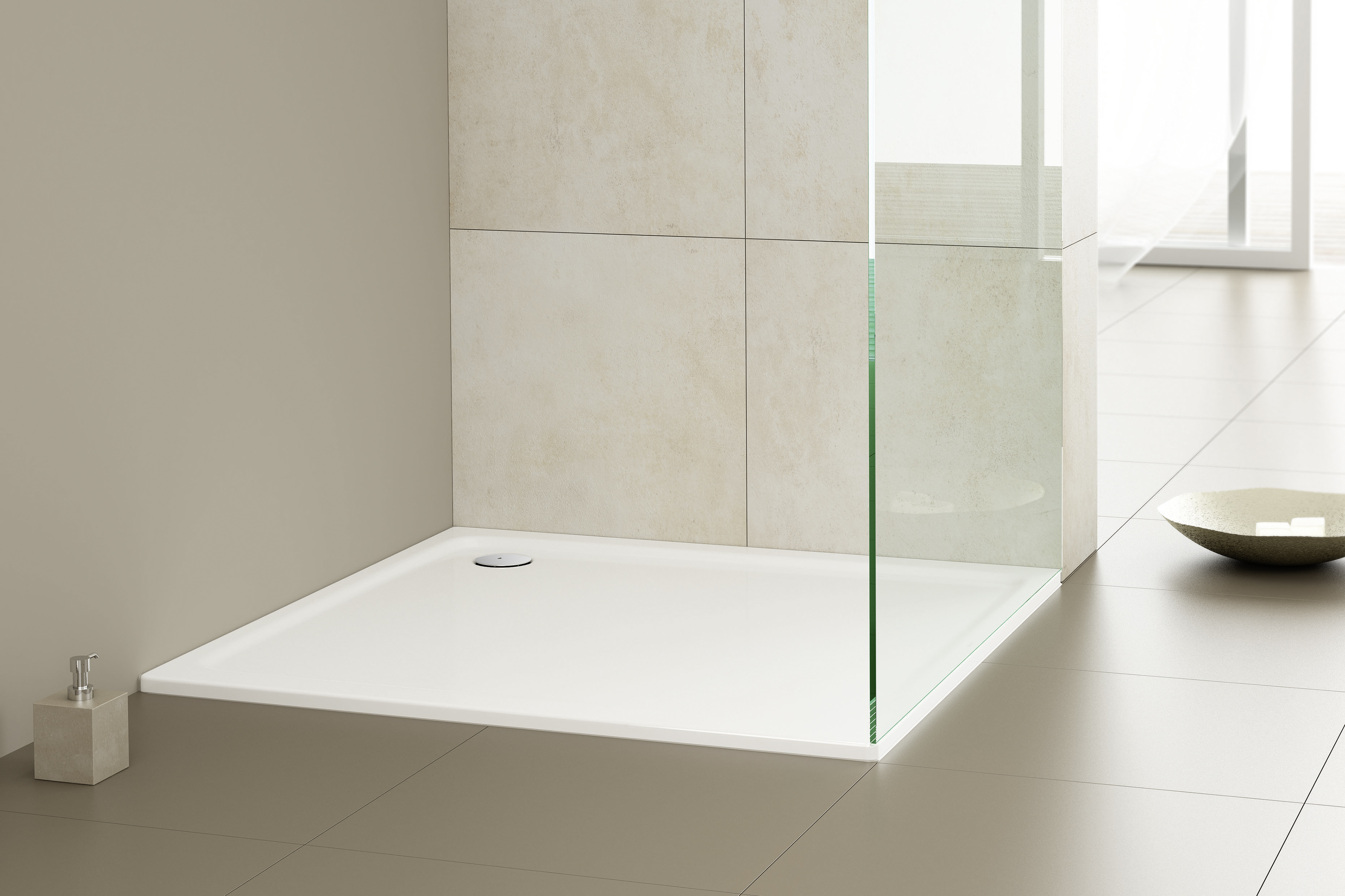Bodenebene Dusche Holzboden : Quick Fit Bathroom Systems