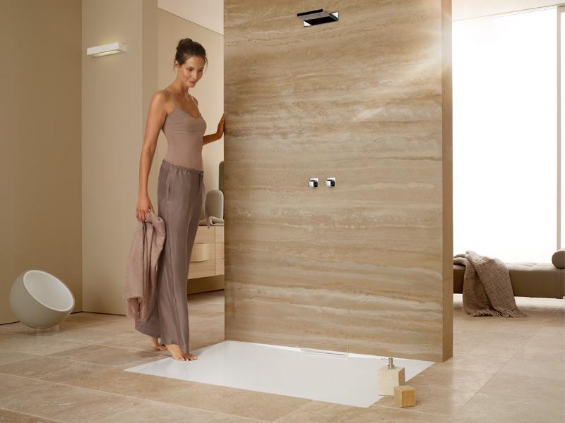 Wandablauf Dusche Reinigen : erm?glicht die harmonische gestaltung bodengleicher duschen f?r eine