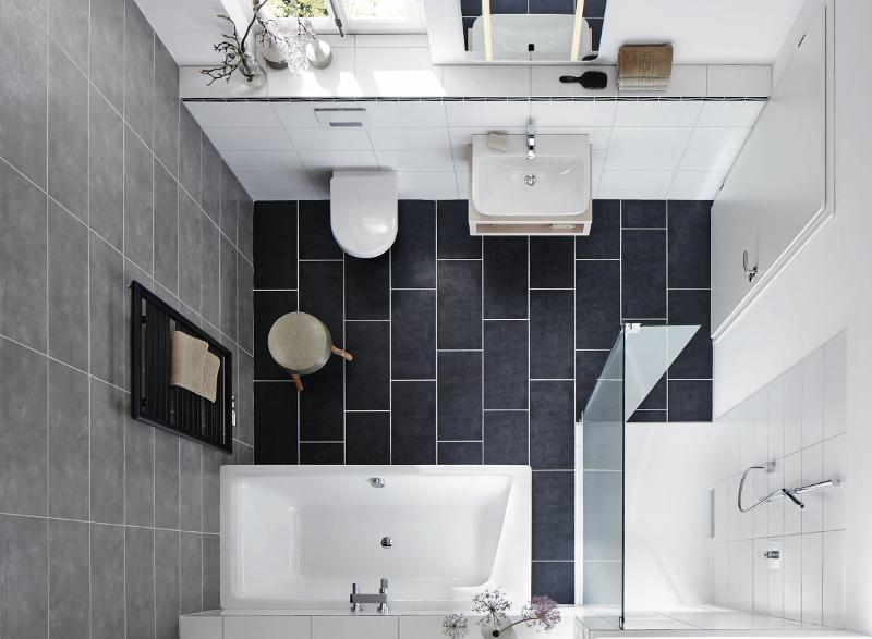 Dusche Und Badewanne In Kleinem Bad : und XETIS bieten ein hohes Bade- und Duschvergn?gen auf kleinem Raum